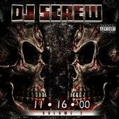 11.16.00 Vol. 2 by DJ Screw