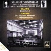 Brahms: Symphony No. 1 - Wagner: Der Fliegende Holländer & Götterdämmerung by Wilhelm Furtwängler