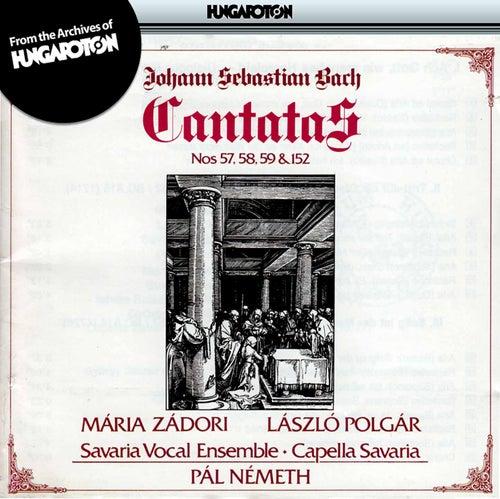 Bach: Cantatas Nos. 57, 58, 59 and 152 by Maria Zadori