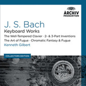 Bach, J.S.: Keyboard Works; The Well-Tempered Clavier; 2- & 3- Part Inventions; The Art Of Fugue; Chromatic Fantasy & Fugue (Collectors Edition) de Kenneth Gilbert