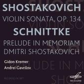 Shostakovich: Violin Sonata - Schnittke: Prelude in Memoriam Dmitri Shostakovich by Various Artists