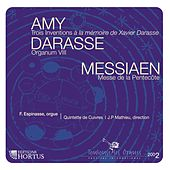 Amy, Darasse & Messiaen by François Espinasse
