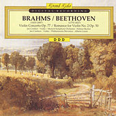 Brahms: Violin Concerto Op. 77 - Beethoven: Romance for Violin No. 2 Op. 50 by Jan Czerkov