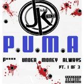 P.U.M.A (P**** Under Money Always), Pt. 1 by J King y Maximan