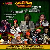 Solidarity Riddim (Original Thriller Presents) by Various Artists
