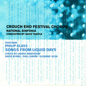 Glass: Songs from Liquid Days by National Sinfonia