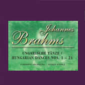 Johannes Brahms - Hungarian Dances Nos. 1 - 21 by Symphony Orchestra