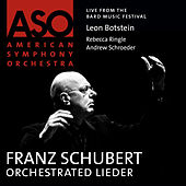 Schubert: Orchestrated Lieder by Various Artists
