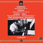 Schumann: Piano Quintet Op. 44 - Brahms: Piano Quartet No. 2 - Dvorak: Piano Quintet Op. 81 - Grieg: String Quartet Op. 27 by Various Artists