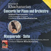 Khachaturian: Piano Concerto - Masquerade Suite by Various Artists