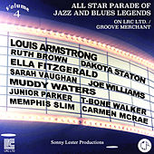 All Star Parade of Jazz and Blues Legends, Vol. 4 - The Voices by Various Artists