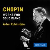 Chopin: Works for Piano de Artur Rubinstein
