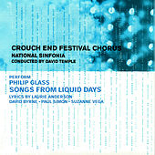Glass: Songs from Liquid Days de David Temple