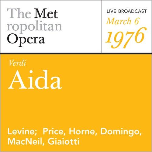 Verdi: Aida (March 6, 1976) by Metropolitan Opera