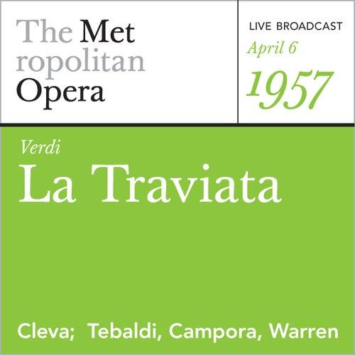 Verdi: La Traviata (April 6, 1957) by Metropolitan Opera