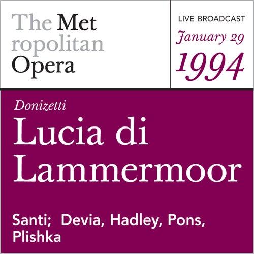 Donizetti: Lucia di Lammermoor (January 29, 1994) by Metropolitan Opera