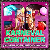 Karneval Container - 100% German Top Single Karneval Hits 2015 bis 2016 de Various Artists