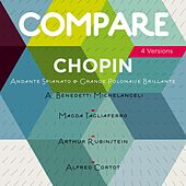 Chopin: Andante spianato et grande polonaise brillante, Arturo Benedetti Michelangeli vs. Magda Tagliaferro vs. Arthur Rubinstein vs. Alfred Cortot (Compare 4 Versions) de Various Artists