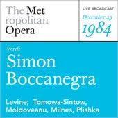 Verdi: Simon Boccanegra (December 29, 1984) von Metropolitan Opera