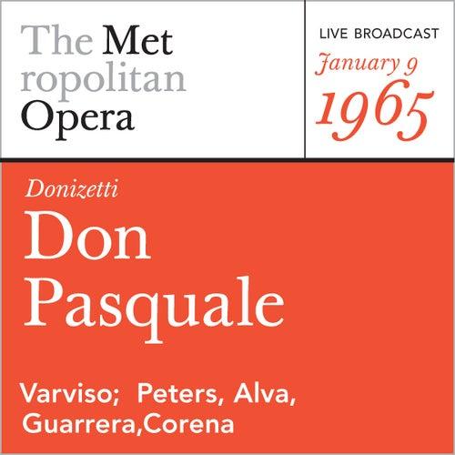Donizetti: Don Pasquale (January 9, 1965) by Metropolitan Opera