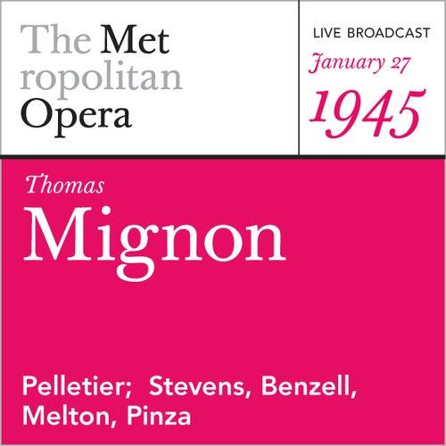 Thomas: Mignon (January 27, 1945) by Ambroise Thomas
