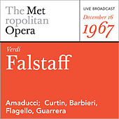 Verdi: Falstaff (December 16, 1967) by Giuseppe Verdi
