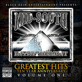 Mid South Entertainment Greatest Hits 10 Year Anniversary (Black Rain Entertainment Presents) by Various Artists