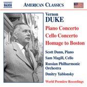 DUKE: Piano Concerto / Cello Concerto / Homage to Boston von Various Artists