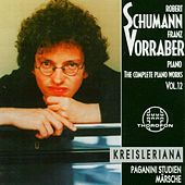 Robert Schumann: Complete Piano Works 12 by Franz Vorraber