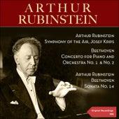 Beethoven: Concertos for Piano and Orchestra No. 1, No. 2 & Piano Sonata No. 14 by Various Artists