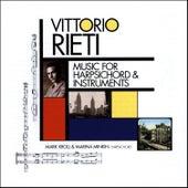 Vittorio Rieti: Music for Harpsichord & Instruments de Various Artists