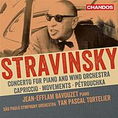 Stravinsky: Works for Piano & Orchestra by Yan-Pascal Tortelier