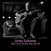 1981-12-27 The Ritz, New York, NY by Jorma Kaukonen