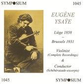 Eugène Ysaÿe by Various Artists
