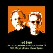 1991-03-09 The Warfield Theatre, San Francisco, CA by Hot Tuna