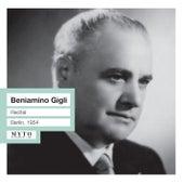 Beniamino Gigli Recital  (Live) by Beniamino Gigli
