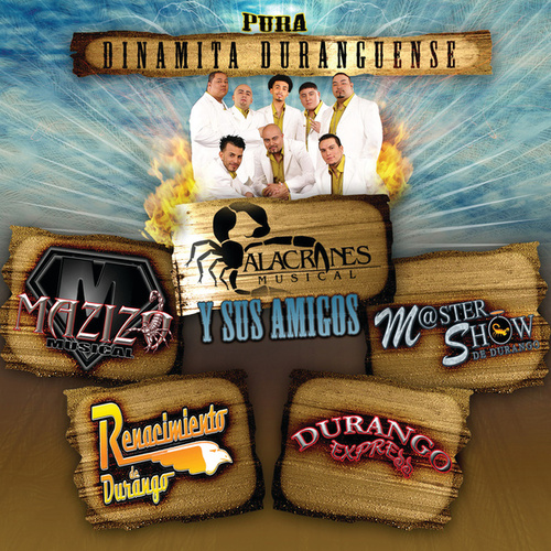 Pura Dinamita Duranguense by Various Artists