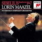 Sibelius:  Symphonies No. 1 & 7 by Lorin Maazel