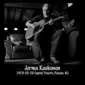 1978-05-20 Capitol Theatre, Passaic, Nj (Live) by Jorma Kaukonen