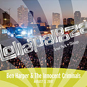 Live at Lollapalooza 2007: Ben Harper & The Innocent Criminals de Ben Harper