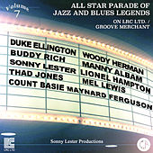 All Star Parade of Jazz and Blues Legends, Vol. 7 - The Big Bands by Various Artists