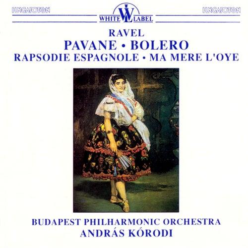 Ravel: Pavance - Bolero - Rapsodie Espagnole - Ma Mere L'oye von Budapest Philharmonic Orchestra