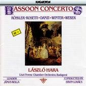 Rosetti / Danzi / Winter / Weber: Bassoon Concertos von Laszlo Hara