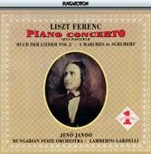Liszt: Piano Concerto No. 3 / 3 Schubert Marches / Buch Der Lieder, Vol. 2 di Jeno Jando