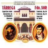 Tárrega, Sor, Grandes Compositores Clásicos Españoles by Manuel Cubedo
