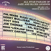 All Star Parade of Jazz and Blues Legends, Vol. 8 - The Jazz Saxophones by Various Artists