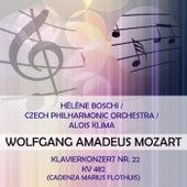 Hélène Boschi / Czech Philharmonic Orchestra / Alois Klima play: Wolfgang Amadeus Mozart: Klavierkonzert Nr. 22, KV 482 (Cadenza Marius Flothuis) by Hélène Boschi