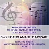 Maria Stader / Kölner Rundfunk-Sinfonie-Orchester / Wolfgang Sawallisch play: Wolfgang Amadeus Mozart: Exsultate, jubilate - Motette für Sopran, Orchester und Orgel, KV 165 de Maria Stader
