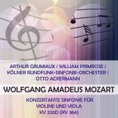 Arthur Grumiaux / William Primrose / Kölner Rundfunk-Sinfonie-Orchester / Otto Ackermann play: Wolfgang Amadeus Mozart: Konzertante Sinfonie für Violine und Viola, KV 320d (KV 364) by Arthur Grumiaux