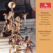 Telemann: Complete Horn Concertos for Horns, Strings & Basso Continuo by Various Artists
